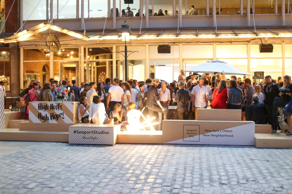 Fashion Pop-Up Celebrates Rebirth of the South Street Seaport