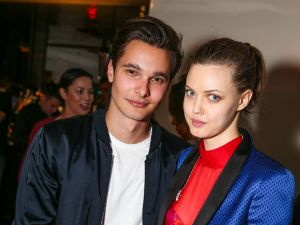 Dorian Grinspan, Lindsey Wixson (Photo: BFA).