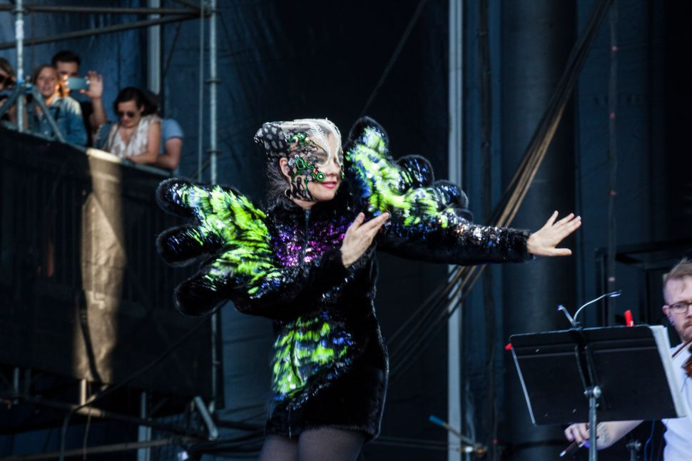 Governors Ball 2015: Bad Sound & Bacchanalia Can't Eclipse Bjork