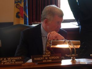 Senate Legislative Oversight Committee Chair Bob Gordon, pictured, will be co-chairing an investigative committee into three N.J. Transit derailments with Assemblyman John McKeon.