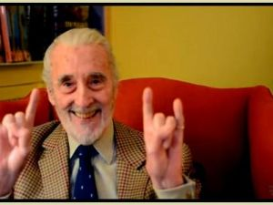 Christopher Lee (Photo: Twitter)