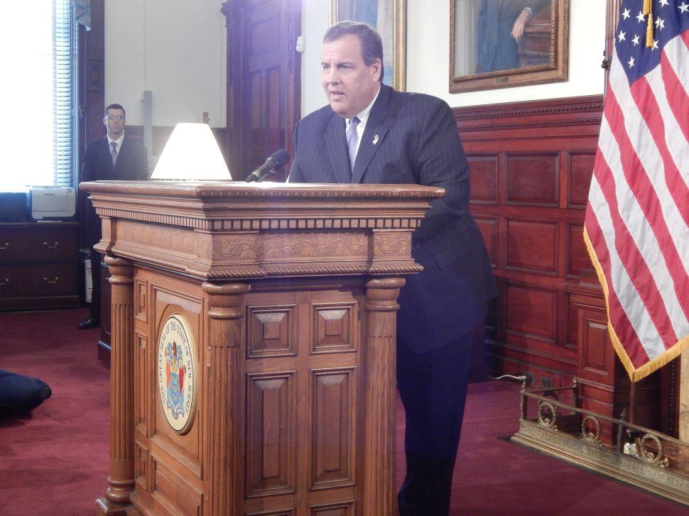 Christie Applauds Legislative Deal for Casino Ballot Question