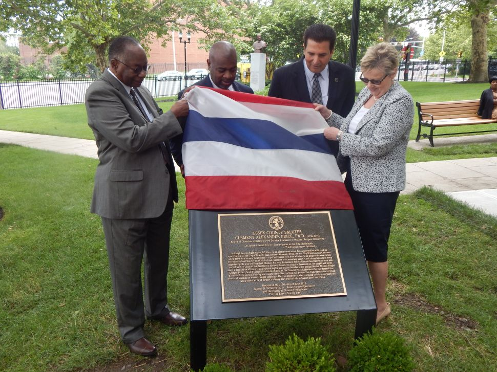 With plaque unveiling, Newark, Essex County remember the unforgettable Clement Price