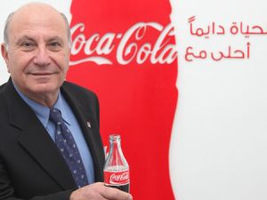 Zahi Khouri is the Chairman of the National Beverage Company in Ramallah (Coca-Cola Publicity Materials)