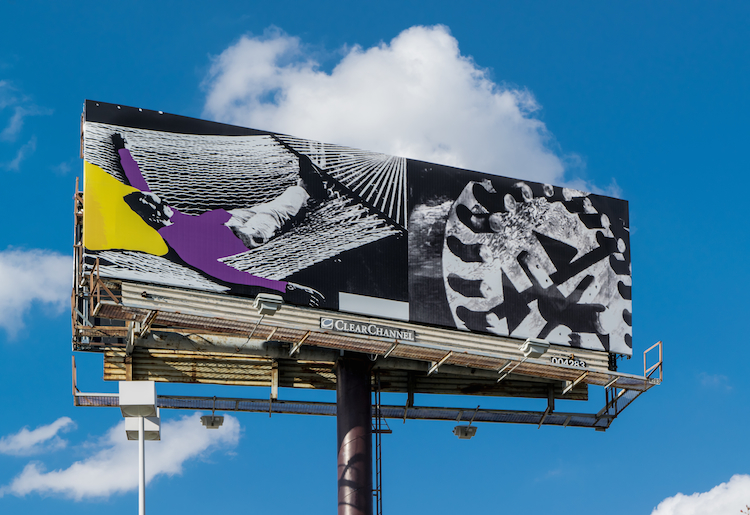 A Campaign to Dot the American South With Artist-Designed Billboards Wraps in LA