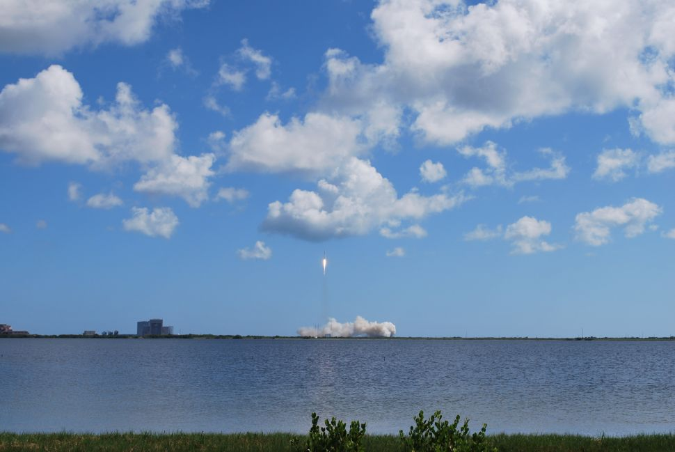 I Watched the SpaceX Rocket Explode After Launching (Photos)