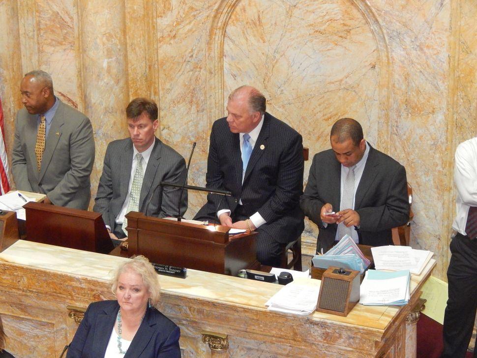 Senate sends 'Democracy Act' to Christie's desk