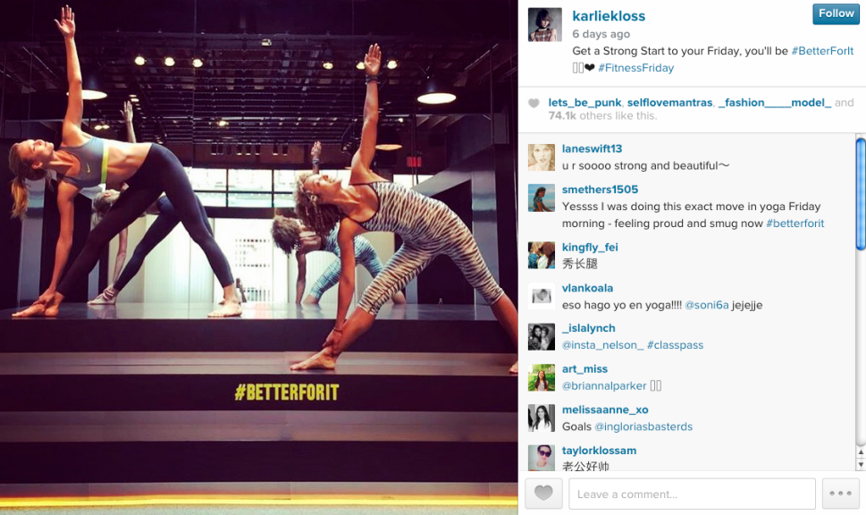 Your Weekly Workout Plan: Yoga With Karlie Kloss, Barre With Hilaria Baldwin