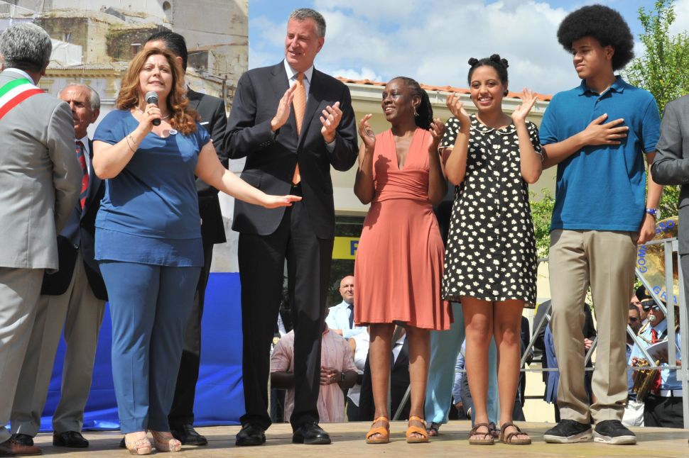 Bill de Blasio Is Planning Another Family Vacation