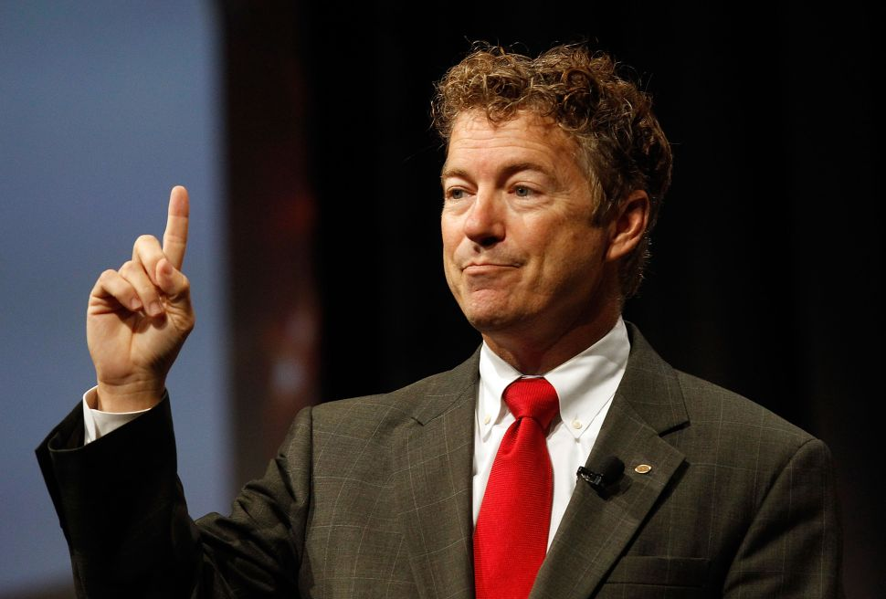 Libertarians—and Even Liberals—Cheer as Rand Paul Battles Big Brother