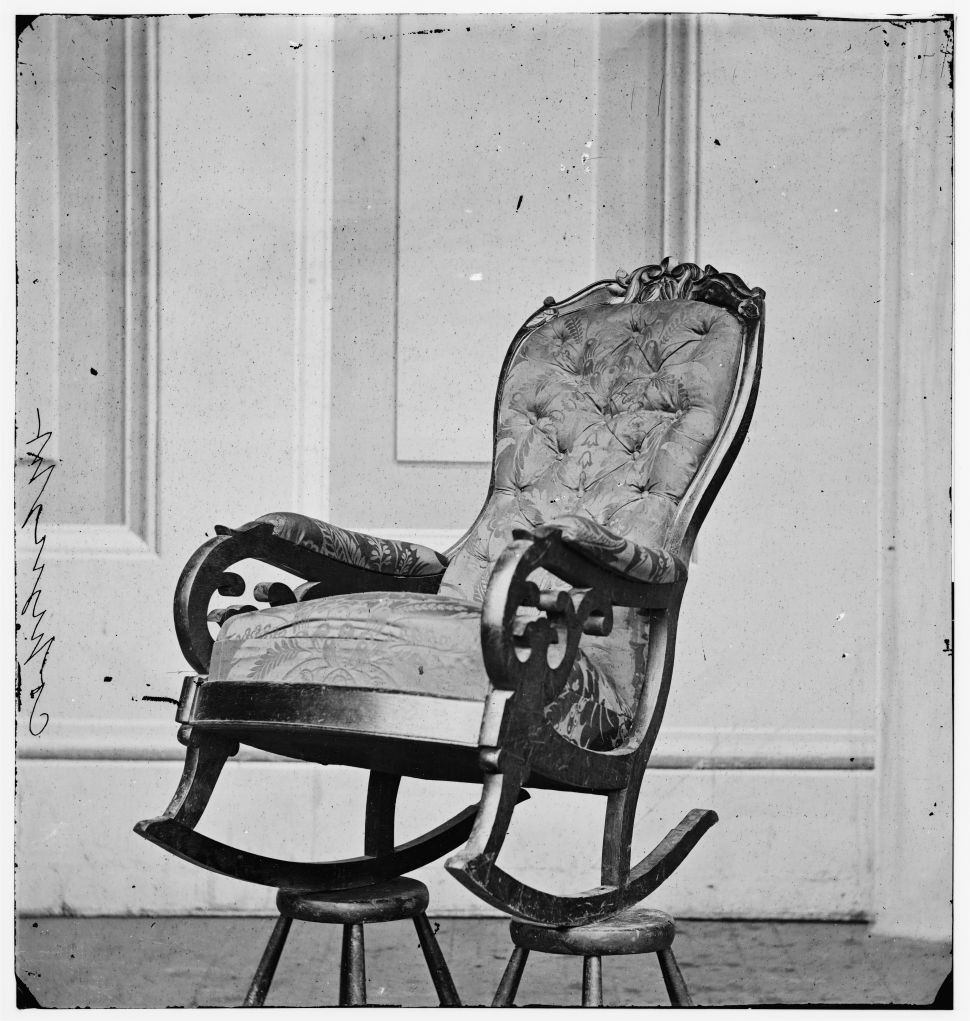 Shocker: There's a Confederate Flag Sewn Into Lincoln's Chair at Ford's Theatre