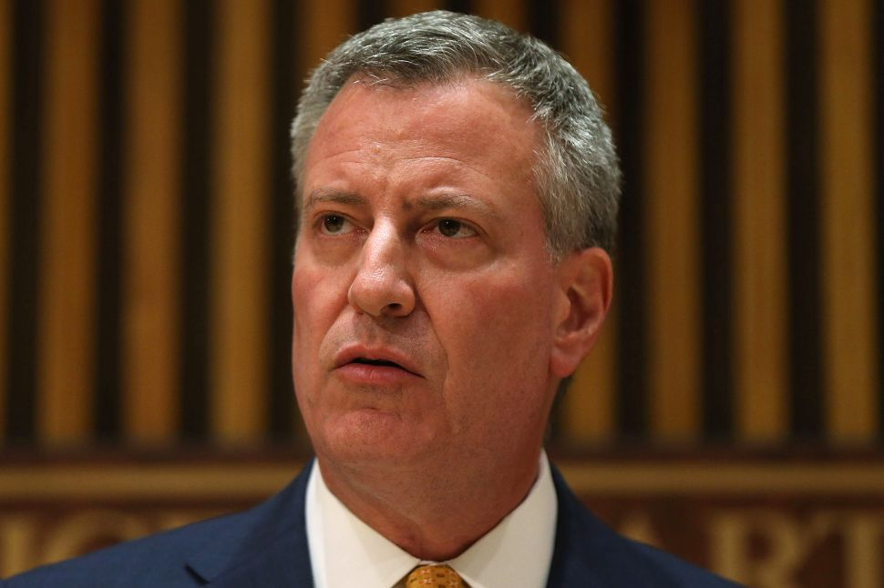 Bill de Blasio Ducks Questions About Ongoing Scandals
