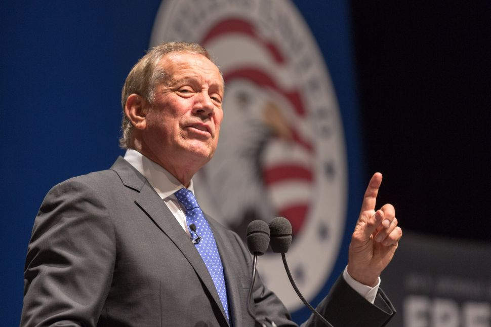 George Pataki Thinks Barack Obama's Use of the N-Word Is 'Troubling'