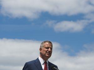 Mayor Bill de Blasio. (Photo: MANDEL NGAN/AFP/Getty Images)