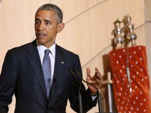 WASHINGTON, DC - U.S. President Barack Obama delivers remarks in celebration of Jewish American Heritage Month at Adas Israel Congregation (Photo by Chip Somodevilla/Getty Images)