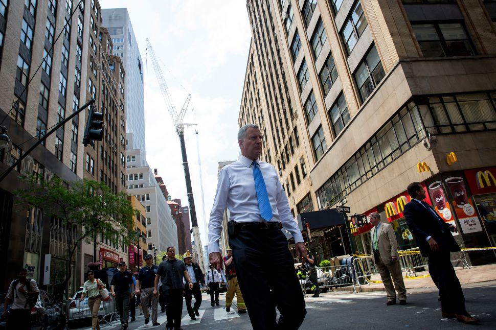 Bill de Blasio Demands Senate Republicans Renew Mayoral Control of Public Schools