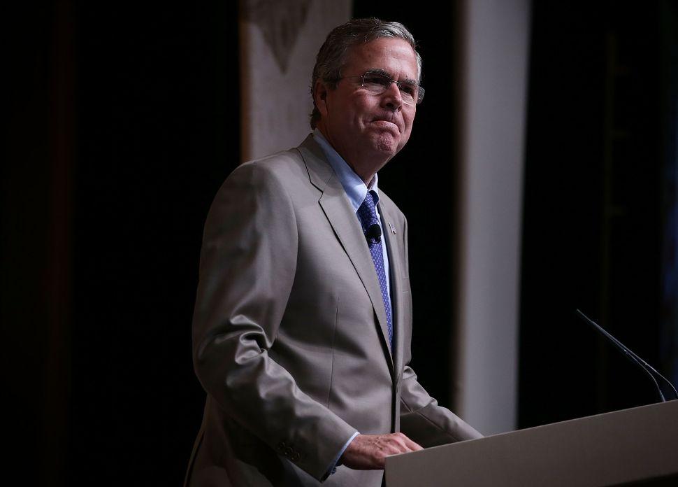 Jeb Bush Shakes Money Tree in Manhattan Two More Times