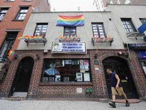 The Stonewall Inn has finally been given landmark status. (Stan Honda/Getty Images)