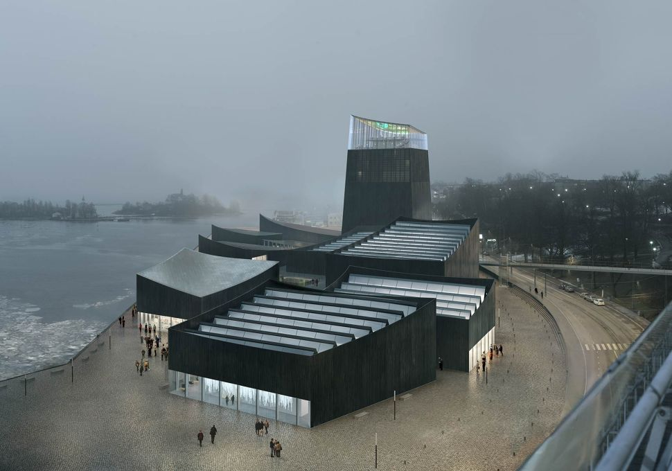 Guggenheim to Add Helsinki Branch: Design for Pavilions With a Lighthouse Wins Bid