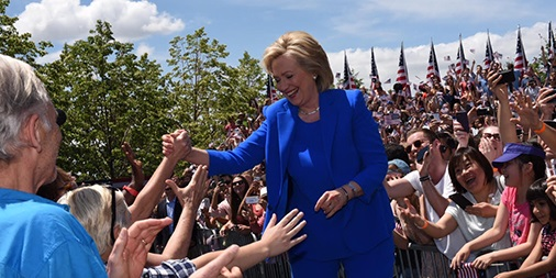 Hillary Clinton Uses Genius to Expand on Her Kickoff Speech