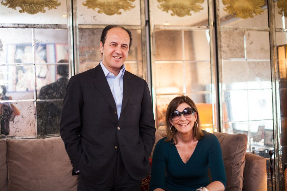 At Home With Prosper and Martine Assouline