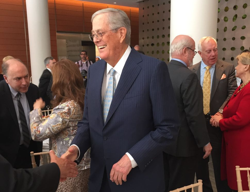 This Fireman Got Cancer From 9-11 and David Koch Was Really Nice to Him