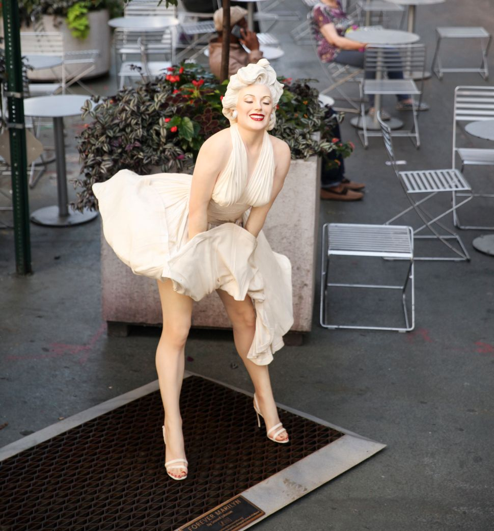 Marilyn and Friends Move Into the Garment District in Sidewalk Sculpture Show