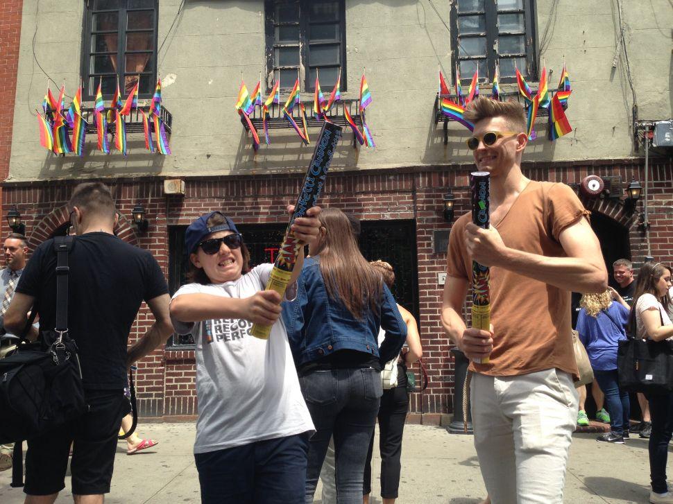 Pride And Joy at the Stonewall Inn, Where Gay Rights Struggle Was Born