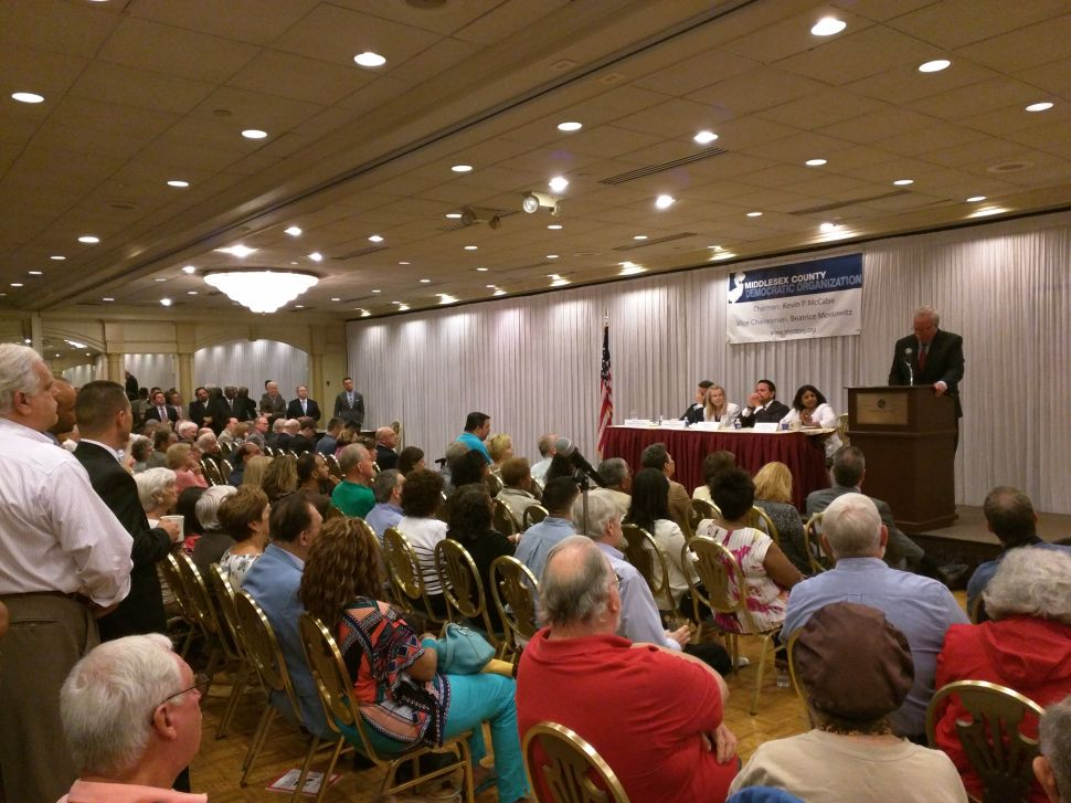 At reorganization meeting, a different picture of Middlesex County's Democratic Party emerges