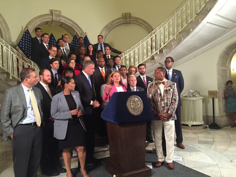 Mayor and City Council Shake Hands on $78.5 Billion Budget