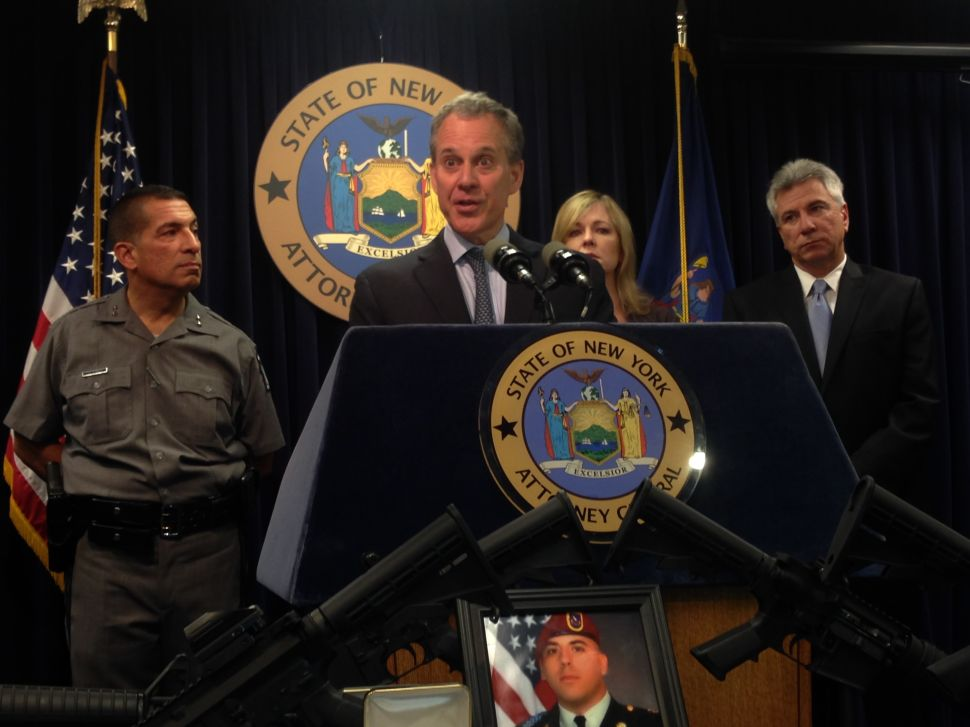 Schneiderman Calls Absence of Ethics Reform From Albany Deal 'Incomprehensible'