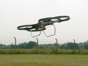 A demonstration prototype of Malloy Aeronautics hoverbike, still under development. (Photo: Malloy Aeronautics)