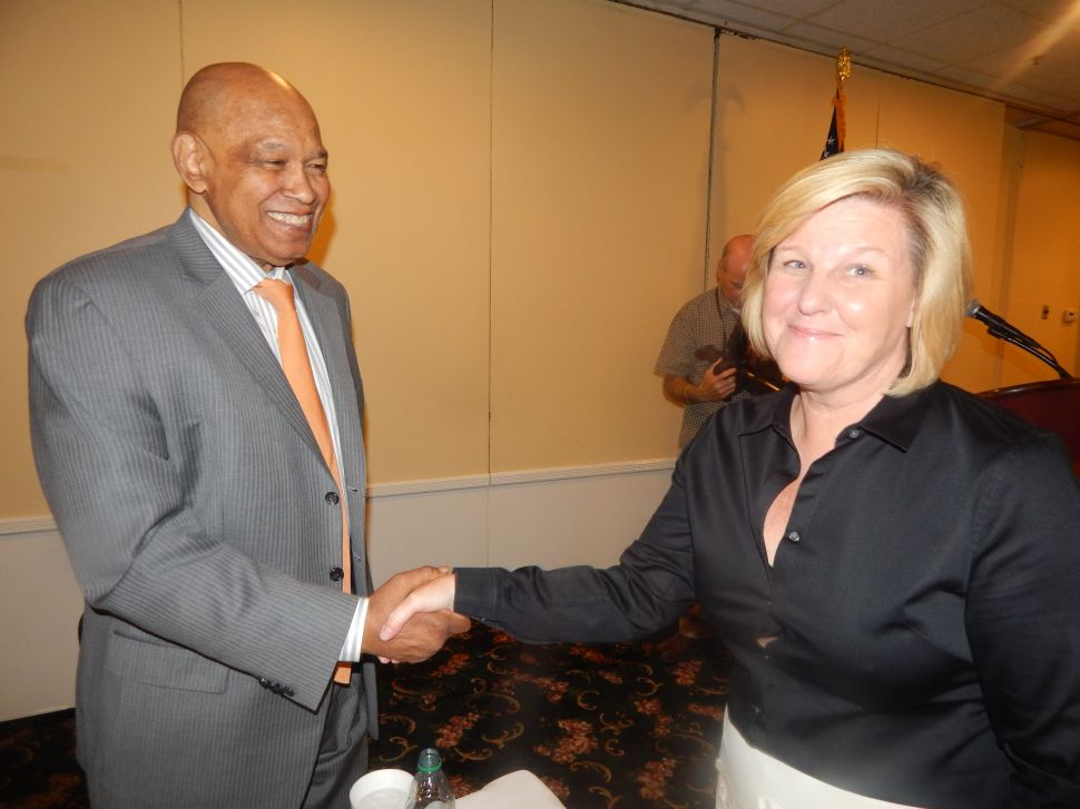 Unscathed: Green gets 21 towns behind him to win another two years as chair