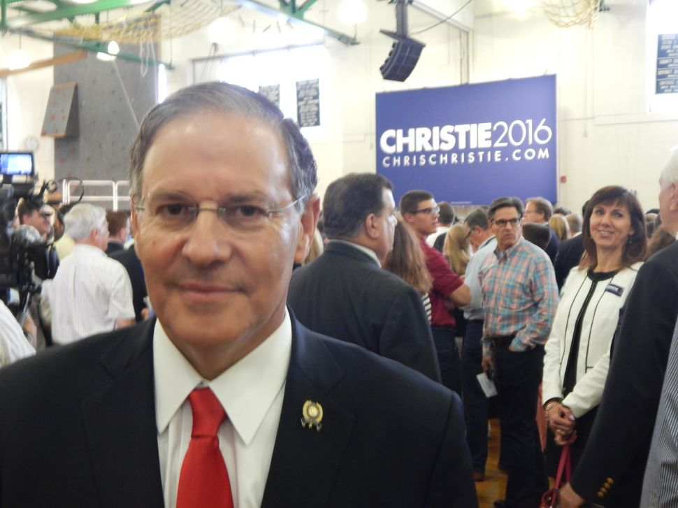 "Bramnick on 2016 prez race: ""We deserve a leader like Chris Christie"""