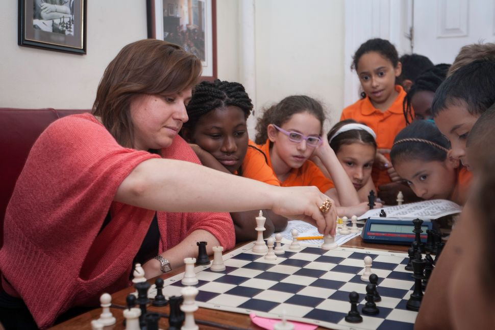 Judit Polgár, Best-Ever Female Chess Player, Teaches NYC Kids to Rule the Board