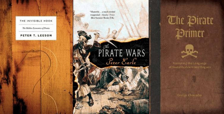 Ahoy! Author Robert Kurson shares his favorite books about real pirate escapades.