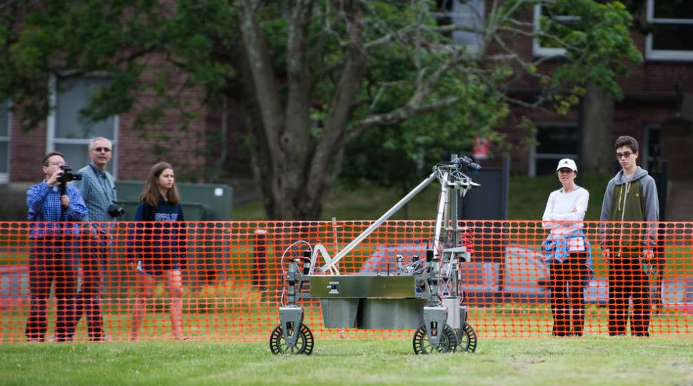 Winning NASA's Robot Scavenger Hunt Yields a Hefty $1.5 Million Prize