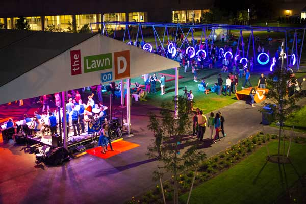 When it comes to creating a modern public space, Lawn on D is onto something.