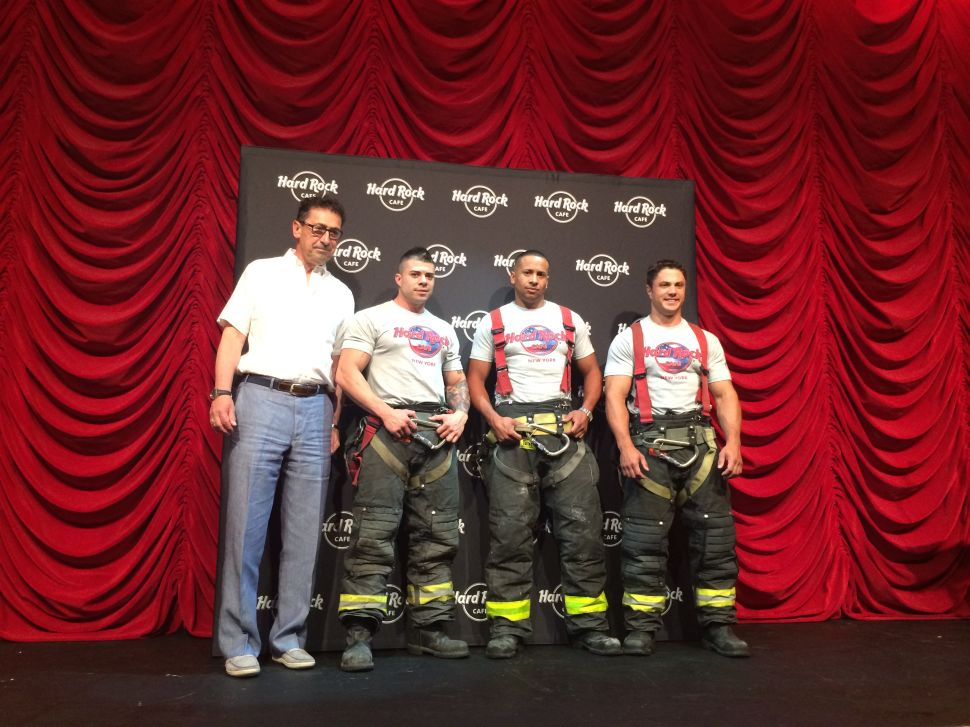 FDNY Calendar Models Turn Out for 150th Anniversary Fundraiser