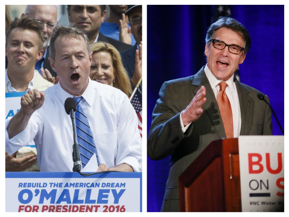 Martin O'Malley and Rick Perry: New Approaches That Must No Be Dismissed for 2016
