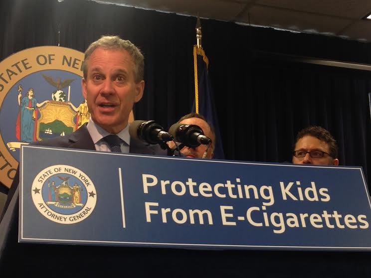 Schneiderman Attacks 'Punting' of Contentious Issues in Albany