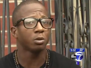 Kalief Browder in a screenshot from a 2013 ABC 7 Eyewitness News report on his incarceration.