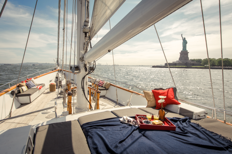 Ellis Island Yacht to Open as America's Most Patriotic Airbnb