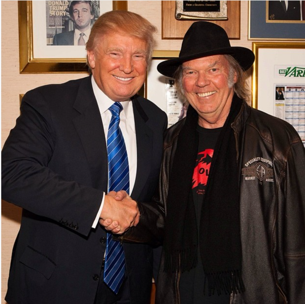 Neil Young vs. Donald Trump: 9 Songs Co-Opted by Politicians
