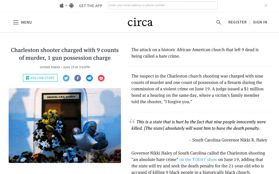 News Startup Circa Says Goodbye After Funds Dry Up