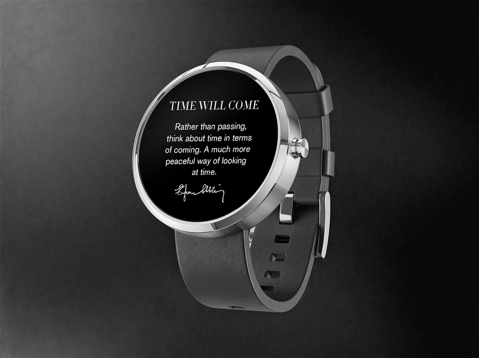 Unlike a Fitbit, This Step-Counting Smart Watch Reminds Wearers to Slow Down
