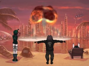 Screenshot from Technobabylon. (Image: Wadjet Eye Games)