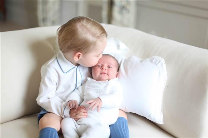Royal Update: Charlotte and George Pose, Pippa Middleton Dabbles in Design