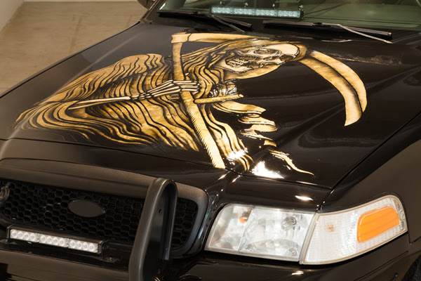 Catch This Tattoo Artist's Customized Car at 'Crown Victorious'