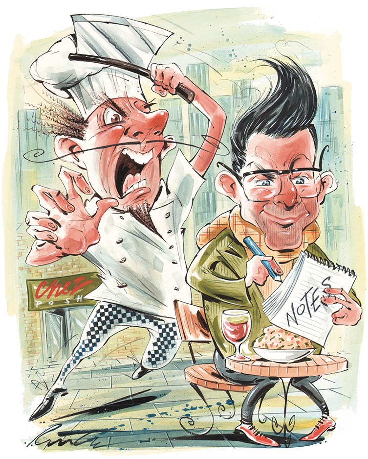 No Soup for You: Chefs Who Ban the Reviewers Who Ding Them